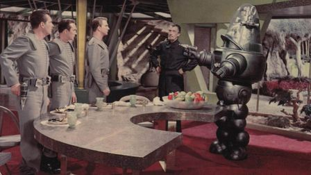 The Forbidden Planet was part of an explosion in science fiction films that gave voice to cold war p