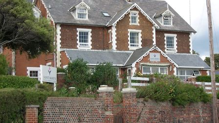 St Mary's Nursing Home in Felixstowe, which went into voluntary liquidation Picture: RICHARD CORNWEL