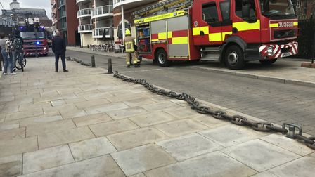 Fire engines are at the scene Picture: ARCHANT