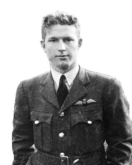 George Marshall came to Britain in 1940 and later became an R.A.F pilot Picture: ALAN POWELL