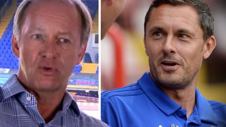 Marcus Evans and Paul Hurst met on Tuesday, Picture: ITFC/ARCHANT