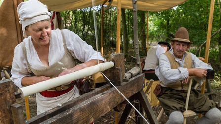 There will be more than100 costumed re-enactors at the Michaelmas weekend at Kentwell Hall, Long Mel