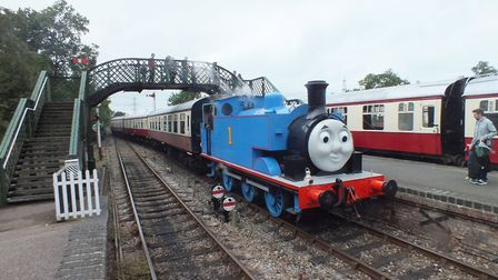 Thomas the Tank Engine. Picture: COLNE VALLEY RAILWAY
