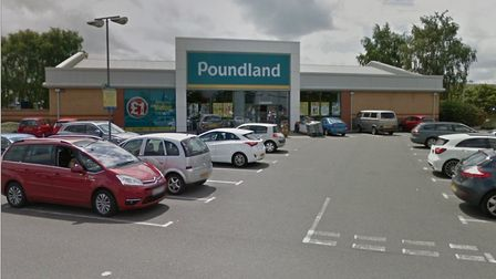The Poundland on Beardmore park was robbed on Wednesday Picture: GOOGLE MAPS
