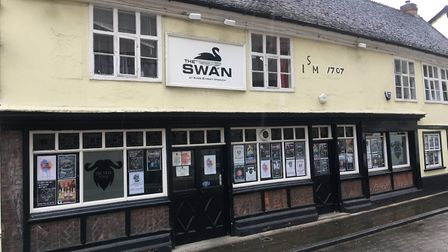 The Swan on King Street, Ipswich Picture: ARCHANT