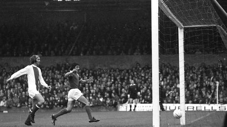 Brian Talbot was among the scorers as Town beat Chelsea in 1974