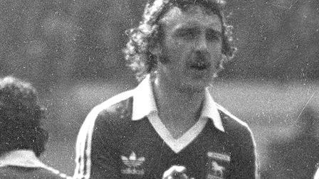 Ipswich Town legend Kevin Beattie scored a few powerfully hit goals in his time.