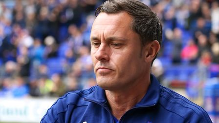 Ipswich Town manager Paul Hurst pictured ahead of Saturday's goalless home draw with Bolton. Photo: