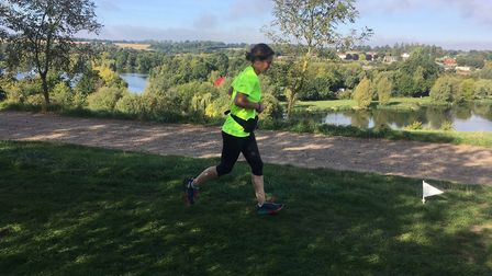 A Saturday morning stroll at the Westmill parkrun. Picture: CARL MARSTON