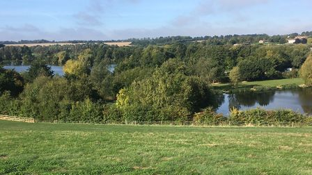 The pleasant setting of the Westmill parkrun, in Hertfordshire. Picture: CARL MARSTON