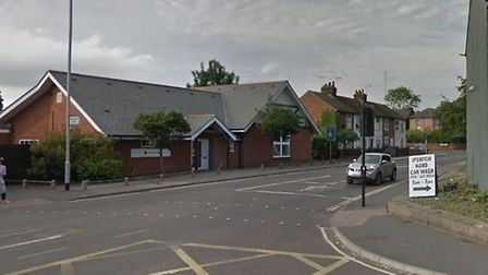 The crash happened in Chavallier Street, Ipswich Picture: GOOGLE