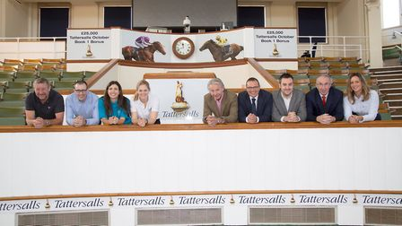 Pictured at Tattersalls in Newmarket are the sponsors and supporters of the 2018 West Suffolk Sports