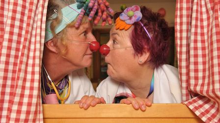 The Clown Round project has now run for 10 years Picture: SARAH LUCY BROWN