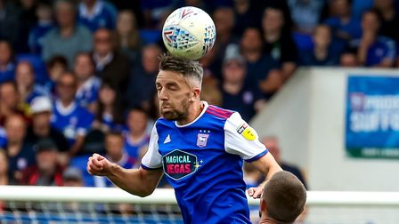 Cole Skuse made his 400th Championship appearance against Brentford. Picture: STEVE WALLER WWW.S
