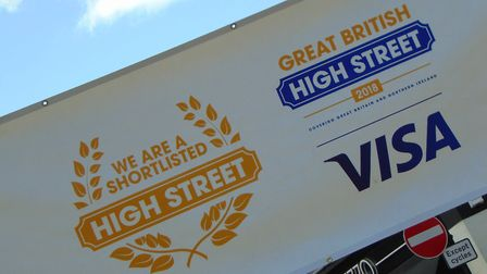 Woodbridge street party to celebrate the high street, which is a contender in a national high street