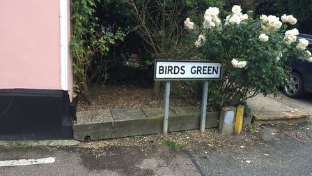 Mrs Taylor died at her home in Birds Green, Rattlesden Picture: ARCHANT