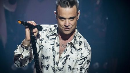 Robbie Williams is mentor for United Vibe Picture: PA