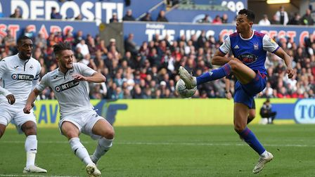 Andre Dozzell made his first senior start in more than a year as Ipswich Town won 3-2 at Swansea pri