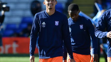 Andre Dozzell hasn't started a first team game at Portman Road since suffering a cruciate knee ligam