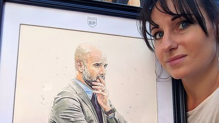 Pep Guardiola, the Manchester City manager, is among the featured football personalities Picture: CH