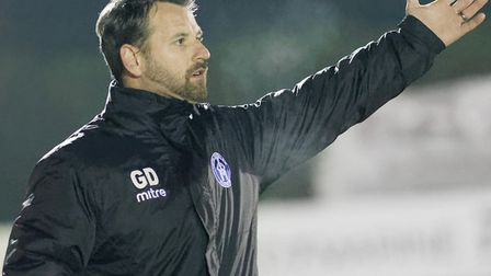 """Glenn Driver, who has last night left his post as manager of Leiston. He has """"no hard feelings"""" abou"""