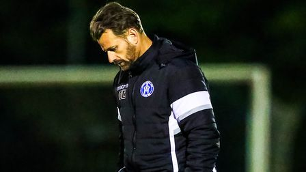 Glenn Driver, who is no longer the manager of Leiston FC. Picture: STEVE WALLER