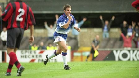 On this day in 1996, Paul Mason scored Town's goal in their 1-1 draw with Portsmouth