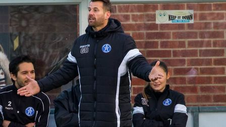 Glenn Driver, who has stood down as Leiston manager in a surprise move. Picture: PAUL LEECH