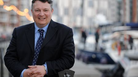 Councillor Mark Bee urged people to 'keep calm and carry on' amid fears a no-deal Brexit could impac