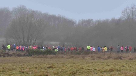 The settting of the weekly Huntingdon parkrun, at Hinchingbrooke Country Park. Picture: HUNTINGDON P