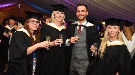 University of Suffolk graduation for the School of Psychology and Education. Picture: GREGG BROWN
