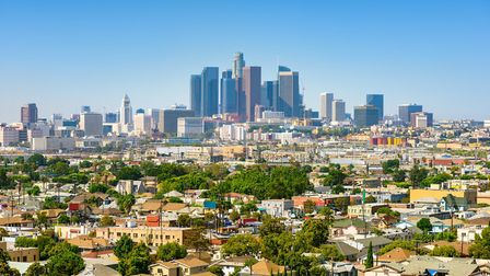 Los Angeles, California, USA downtown cityscape at sunny day. Picture: GETTY IMAGES/ISTOCKPHOTO/ CHO