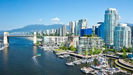 Beautiful view of Vancouver Picture: GETTY IMAGES/ISTOCKPHOTO/MFRON