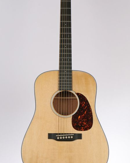 A guitar once owned by Ed Sheeran is up for auction Picture: BISHOP& MILLER