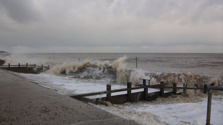 Large waves could be hitting our coastline this weekend Picture: HAZEL CALVER/CITIZENSIDE.COM