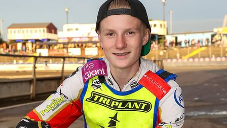 Witches new signing Drew Kemp. An Ipswich asset and shining star. PICTURE STEVE WALLER www.ste