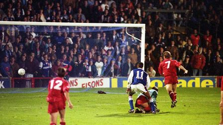 It was on this day in 1992, Town beat Wigan 4-0 at Portman Road