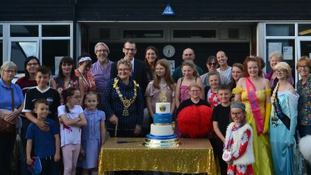 Woodhall Primary School in Sudbury celebrated its 50-year anniversary with a special fete Picture: W