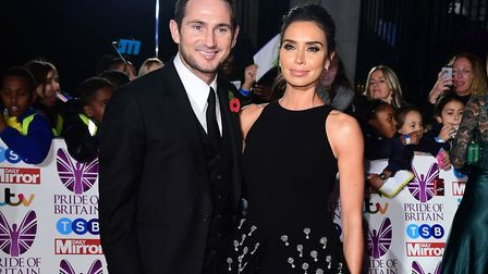Frank and Christine Lampard have named their daughter Patricia. Picture: Ian West/PA Wire