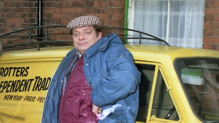 Only Fools and Horses filming in Ipswich in 1987 - could Delboy have influenced the popularity of D