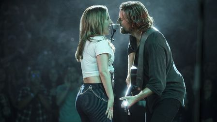 A Star Is Born. Pictured: Bradley Cooper as Jackson Maine, Lady Gaga as Ally. Photo: PA Photo/Warne