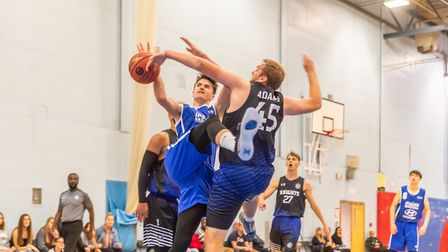 Ipswich's Ethan Price gets blocked going to the hoop. Picture: PAVEL KRICKA