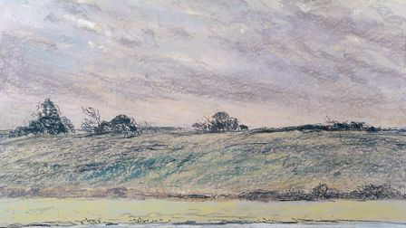 Wind in the sky - a pastel by Anne Paterson Wallace Picture: Lance Co