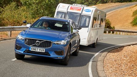 Volvo XC60 won overall title and two categories at Caravan and Motorhome Club Towcar of the Year 201