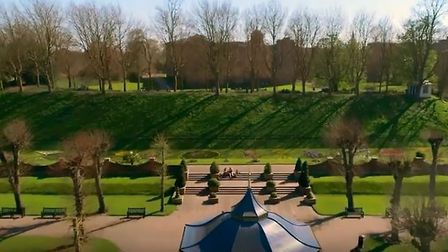 Visit Colchester - a screenshot from the new video campaign