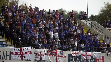 On this day in 2002, the Blues beat FC Sartid 1-0 in Yugoslovia