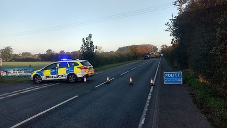 Emergency services are at the scene Picture: DANIEL COLLINS