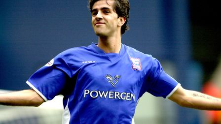 Pablo Counago scored twice as the Blues beat Rotherham 2-1 at Portman Road in 2003