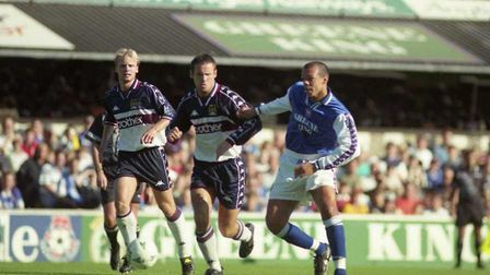 Jason Dozzell made his return in a Ipswich Town shirt on this day in 1997
