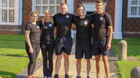 Lead lifestyle transformation coach Luke Hall and his team of coaches PICTURE: Four Seasons Physique